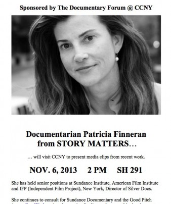 Documentarian Patricia Finneran from Story Matters