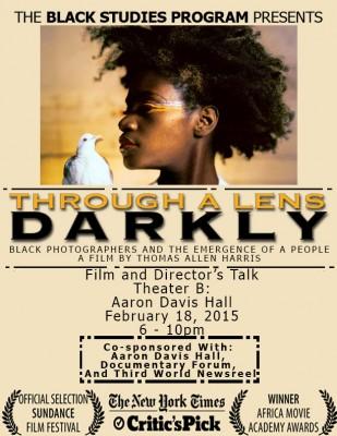 Through A Lens Darkly Screens Aaron Davis Hall 2/18/15