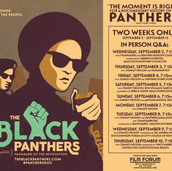 Black Panthers Theatrical Screening at Film Forum September 9 with Co-host TWN