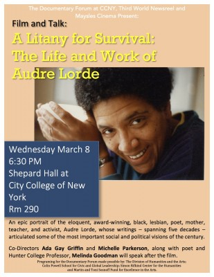 Audre Lorde Poster (1)