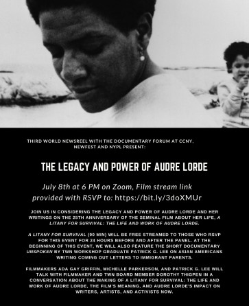 The Legacy and Power of Audre Lorde