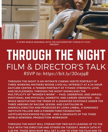 Through the Night - film and director's talk